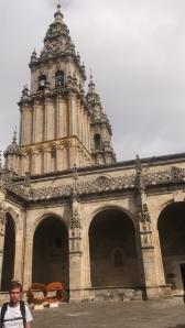 Llegada a Santiago