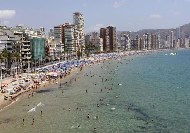 685052-the-levante-beach-is-pictured-in-the-coastal-town-of-benidorm-in-south-eastern-spain